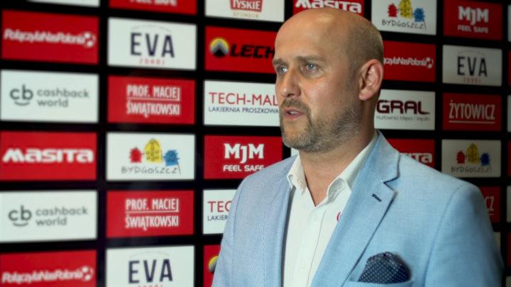 KP Polonii Bydgoszcz- Prezes Marcin Matysiak