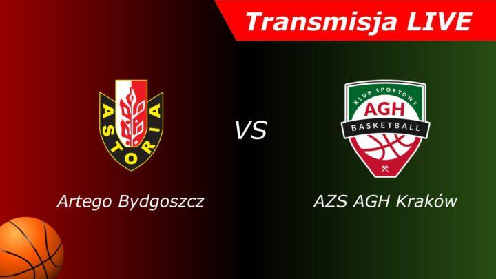Enea Astoria Bydgoszcz – AZS AGH Kraków | Transmisja na żywo | Koszykówka