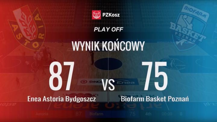 Bydgoszcz zdecydowanie bliżej półfinału.