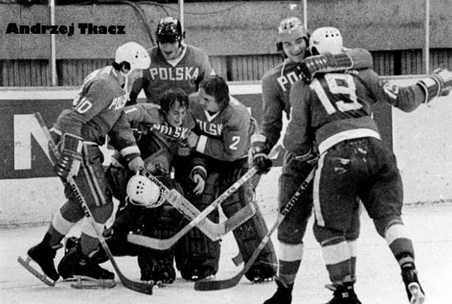 Andrzej Tkacz – najlepszy Polski bramkarz hokejowy.
