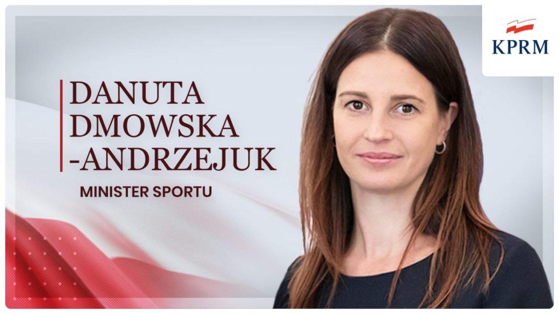 Oświadczenie Minister Sportu Danuty Dmowskiej-Andrzejuk.